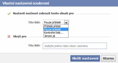 facebook-soukromi-prizpusobit