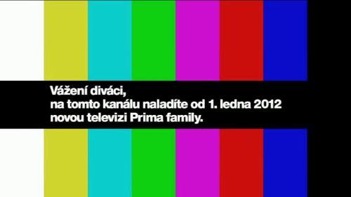 Prima family - monoskop mux 2, 29.12.2011