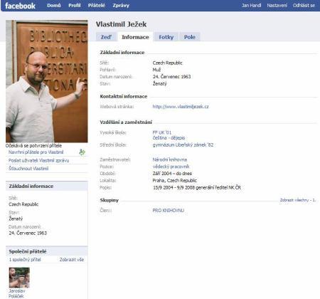 Facebook Ježek