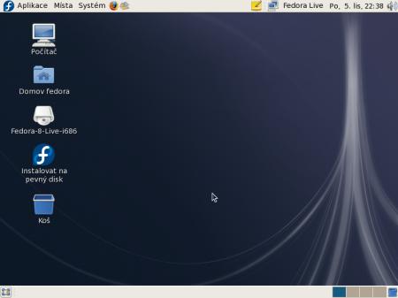 Fedora 8 GNOME