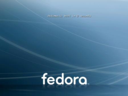 Fedora 8 start