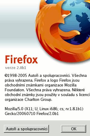 Firefox 2b1