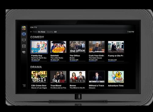Google TV - televize a filmy