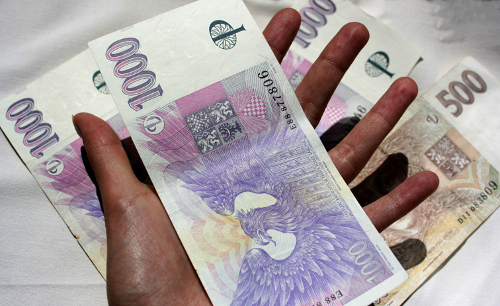 Bankovky, tisícikoruny