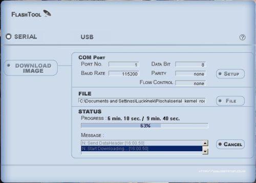 AB IP Box 250S Flash Tool
