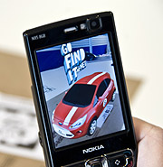 Ford Ka rozšířená realita