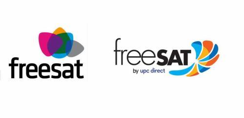 Freesat a freeSAT - loga
