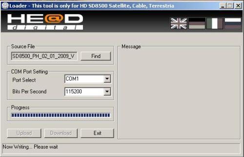 He@d SD8500 - firmware