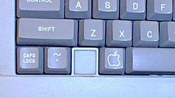 Apple IIe klávesnice