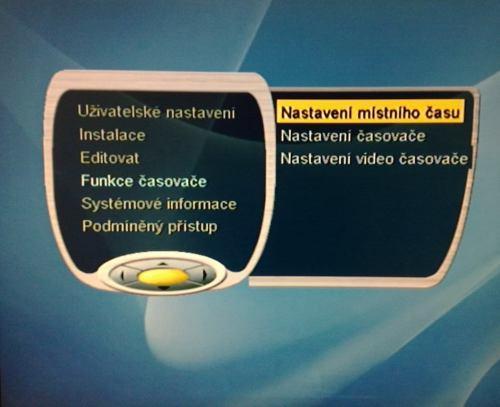 Handan CV-5000 menu
