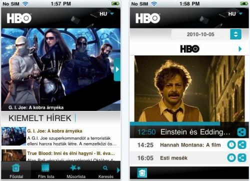 HBO - iPhone