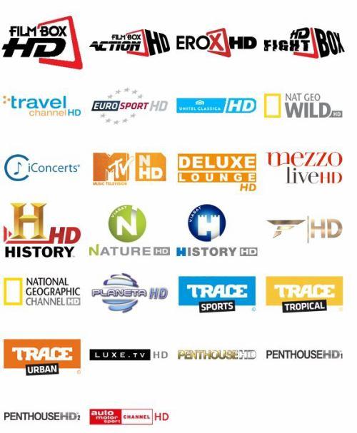 Satelitte BG - nabídka HDTV kanálů