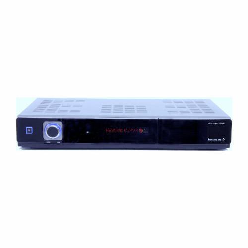 Homecast HS8500 CIPVR - přední panel