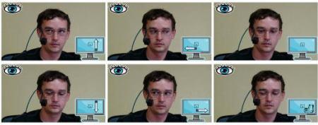 i4control - pohyb očí