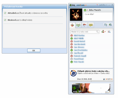 Screenshot ICQ 7