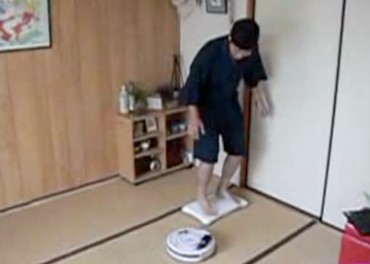 Roomba a Wii Fit