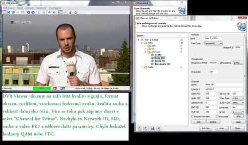 DVB-T2 Praha - parametry multiplexu