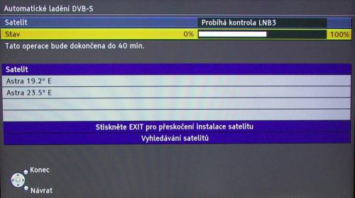Panasonic TX-L42V20E instalace satu 2