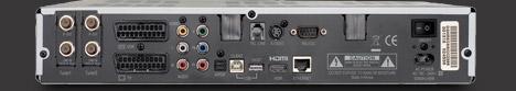 AB IPbox 9000 HD zadni