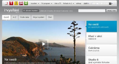 iVysílání beta verze 2011