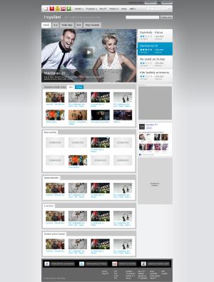 Nový web ČT - iVysílání 2011