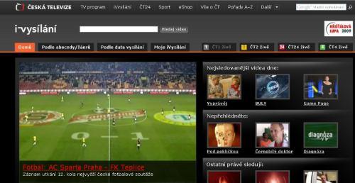 ČT - iVysílání web