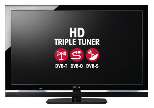 Televizor Sony - tuner DVB-T, DVB-C, DVB-S