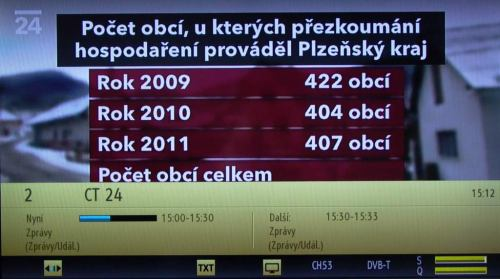 Gogen TVL 32982WEBCRR kanál - přepínání