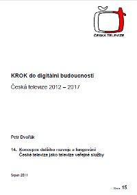 Projekt na GŘ ČT 2011 - Petr Dvořák