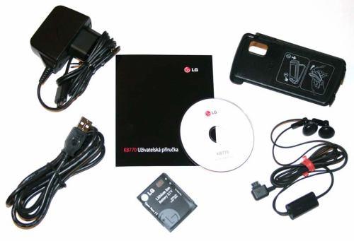 LG KB770 - příslušenství