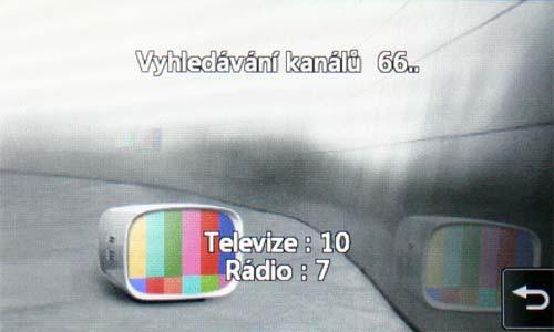 LG KB770 - TV ladění