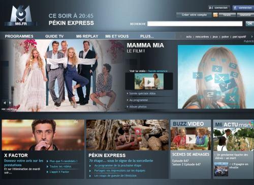 M6 Suisse HD web