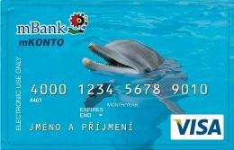 Platební karta Visa k mKontu