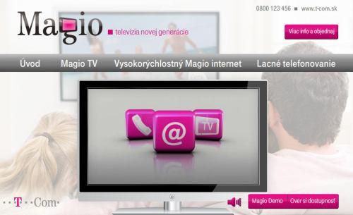 Magio web
