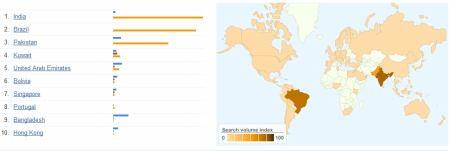 mapa Orkut
