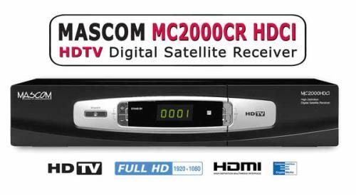 Mascom MC2000CR přední panel