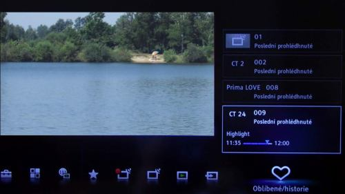 Sony KDL-46NX720 od všeho trochu :-)