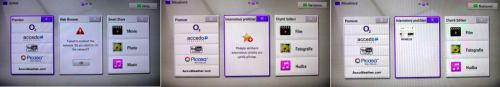 LG ST600 menu úvodní spojené
