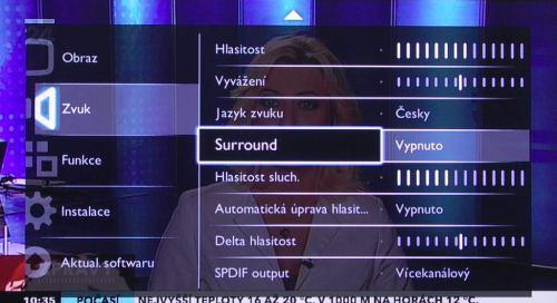 Philips 22pfl3415h_12 menu zvuku