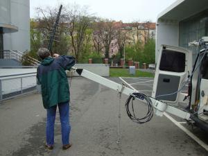DVB-T2 - měřicí vůz ČRa - 2