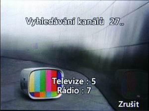 LG HB620T - ladění DVB-T