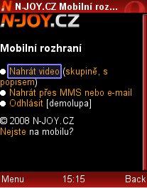 mobil upload