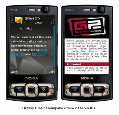 T mobile - mobilní reklama