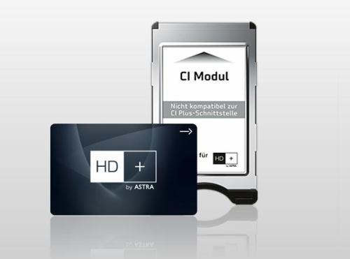 HD+ - modul a karta