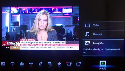 Sony KDL-40CX520 multimedia