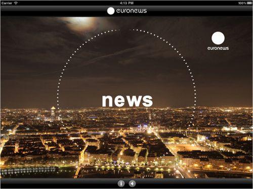Euronews - iPad