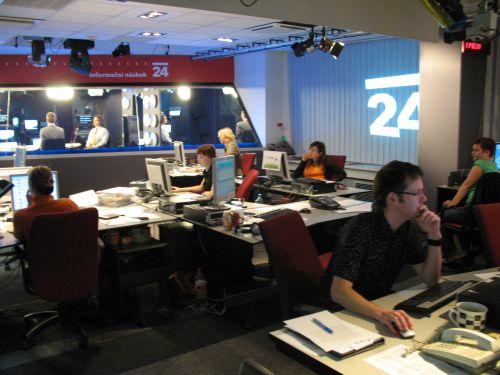 ČT24 zpravodajská směna