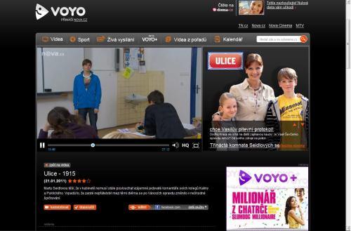 TV Nova - Voyo.cz 500