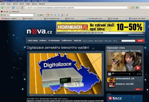 Nova.cz digitalizace