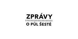 Zprávy o půl šesté - logo - ČT